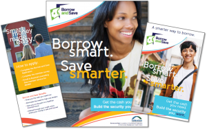 Borrow and Save materials