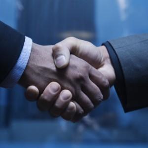 Investors Handshake