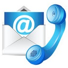 Phone and Email Icon Image