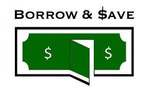 Borrow & Save Logo - RoM 1