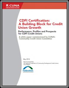CDFI Certification white paper cover