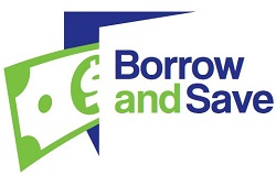 Borrow and Save logo 250 pixels