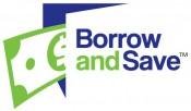 Borrow and Save logo TM