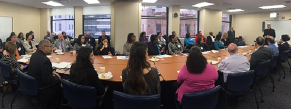 Immigration NYC Roundtable panorama