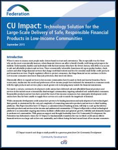 CU Impact Report Cover