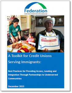Toolkit for Credit Unions Serving Immigrants shadowed