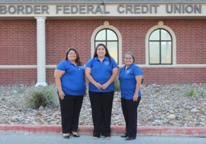 Border FCU Counseling Team (left to right): Diana Torres, Gina McNeal and Monica Jaquez