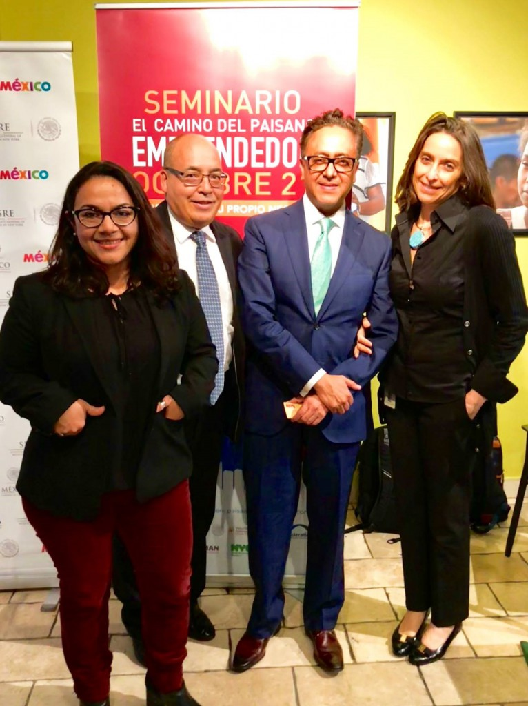 Latino Entrepreneurship Workshop at Mexican Consulate 1
