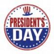 Presidents Day stamp