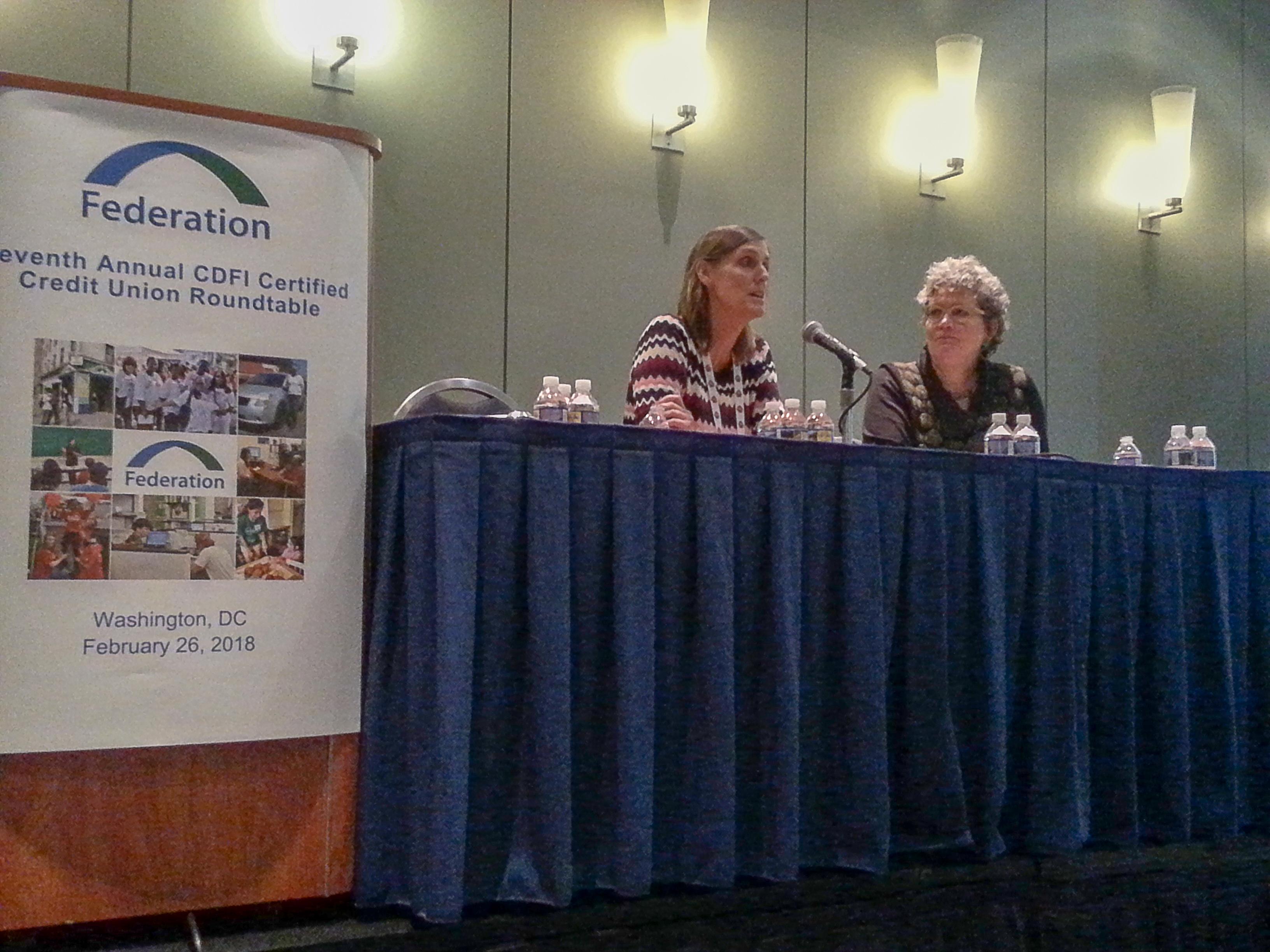 Cathie & Annie Donovan CDFI Roundtable