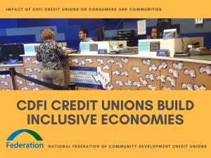 Kristin 2018 CDFI Credit Unions