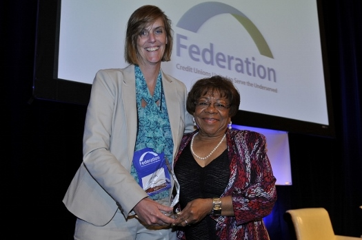 cathie-mahon-of-the-federation-with-rita-l-haynes-2014-annie-vamper-award-winner